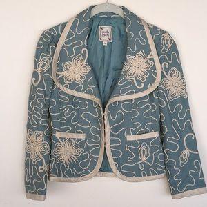 Nanette Lepore Linen Jacket